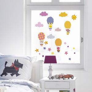 Naklejka na okno Funny Baloons