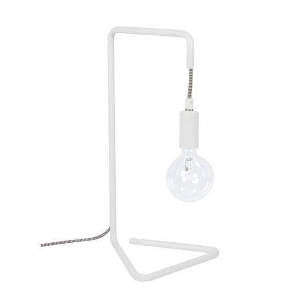 Lampa stołowa Bureau, biała