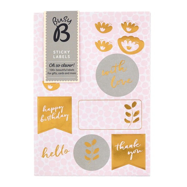 Naklejki Busy B Pinky Labels
