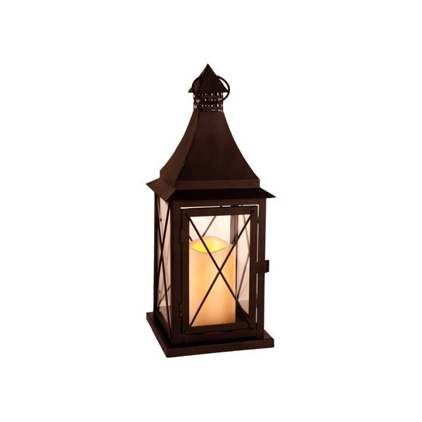 LED lampion Lantern 37 cm, czarny