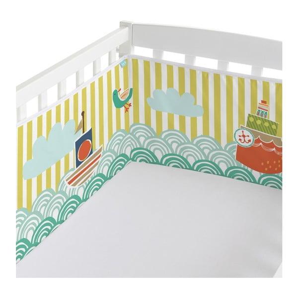 Ochraniacz do łóżeczka Moshi Moshi Ahoy, 210x40 cm