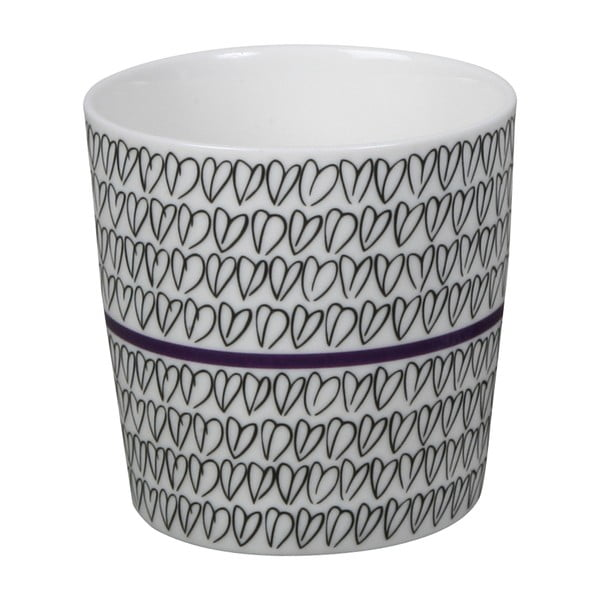 Kubek Heart Mug Purple
