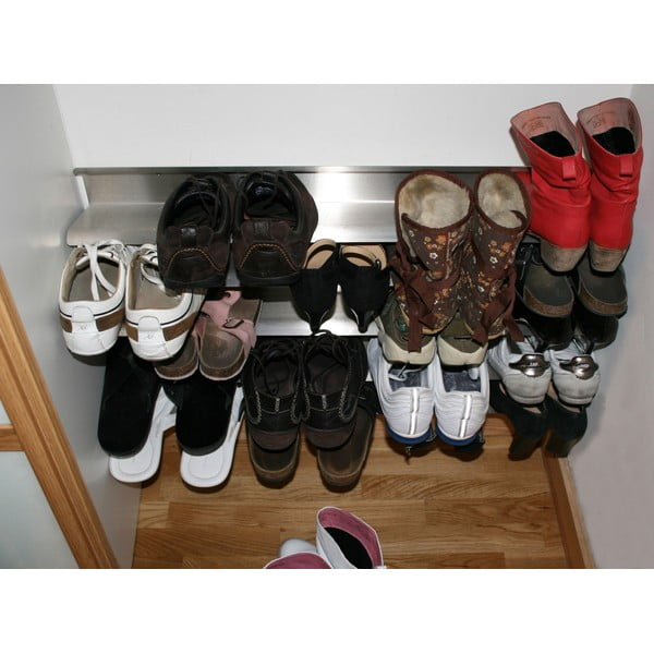 Półka na   buty z nierdzewnej stali J-Me Shoe Rack, 70 cm
