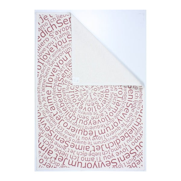 Dywan NW White/Red, 140x200 cm