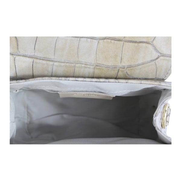 Beżowa skórzana torebka Caroline