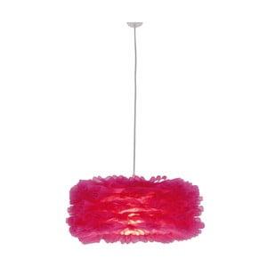 Lampa wisząca Foam, różowa