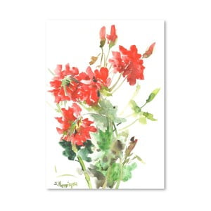 Plakat Geranium in Red (projekt Suren Nersisyan)