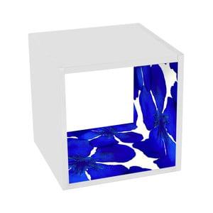 Stolik z półką Blue Beauty