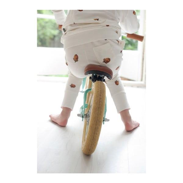 Białe spodnie chłopięce Snurk Winternuts, 116