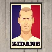 """Plakat """"Zidane"""", 29,7x42 cm"""