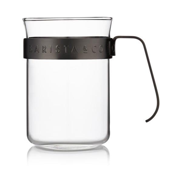 Naczynie do kawy Barista 220 ml, czarne, 2 szt.