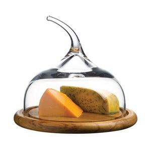 Taca ze szklanym kloszem Pasabahce, ⌀ 50 cm