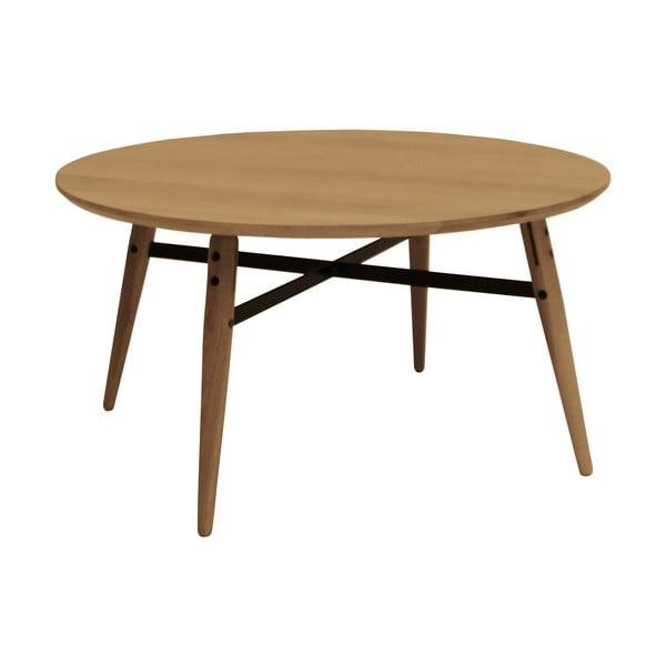 Brązowy stolik Canett Exact, duży