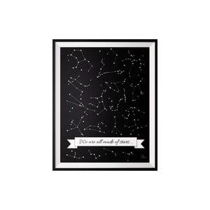 Plakat Stars, 40x50 cm