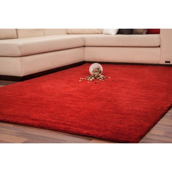 Wełniany dywan Millennium 60x110 cm, czerwony