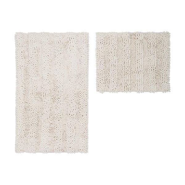 Zestaw 2 dywaników łazienkowych Surface Cream