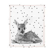 Ścierka kuchenna Present Time Hearts Deer, 50x70 cm