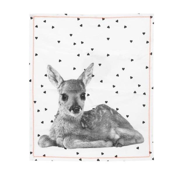 Ścierka kuchenna PT LIVING Hearts Deer, 50x70cm