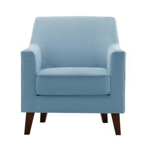 Jasnoniebieski fotel Jalouse Maison Kylie