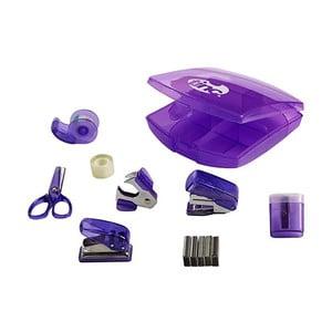 Zestaw 8 fioletowych akcesoriów biurowych TINC Tonkin Mini