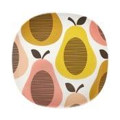 Talerz Orla Kiely Pear Candy, 21,5 cm
