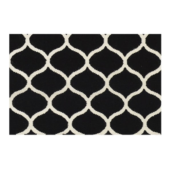 Ręcznie tkany dywan Alize Black, 155x240 cm