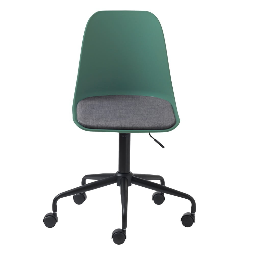 Zielone krzesło biurowe Unique Furniture