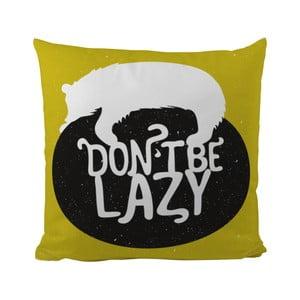 Poduszka Black Shake Don't Be Lazy, 50x50 cm