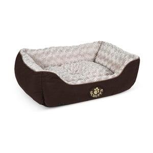 Legowisko dla psa Wilton Box Bed M 60x50 cm, brązowe