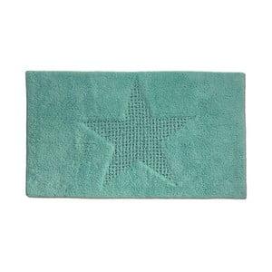 Miętowy dywanik łazienkowy Kela Livana, 65x55cm
