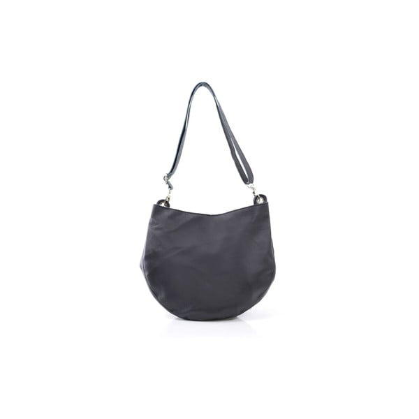 Skórzana torebka Melia, czarna