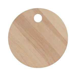 Deska do krojenia z drewna egzotycznego A Simple Mess Skals, ⌀20cm