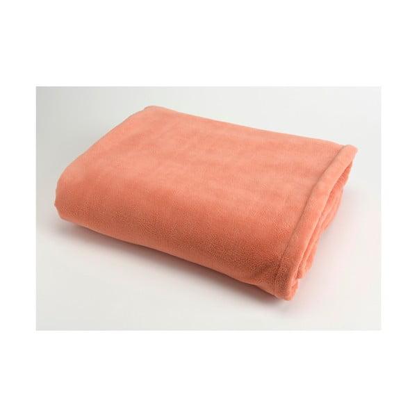 Koc Doudou Orange, 130x170 cm
