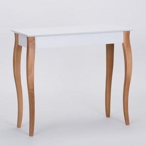 Biały stolik Ragaba Console, dł. 85 cm