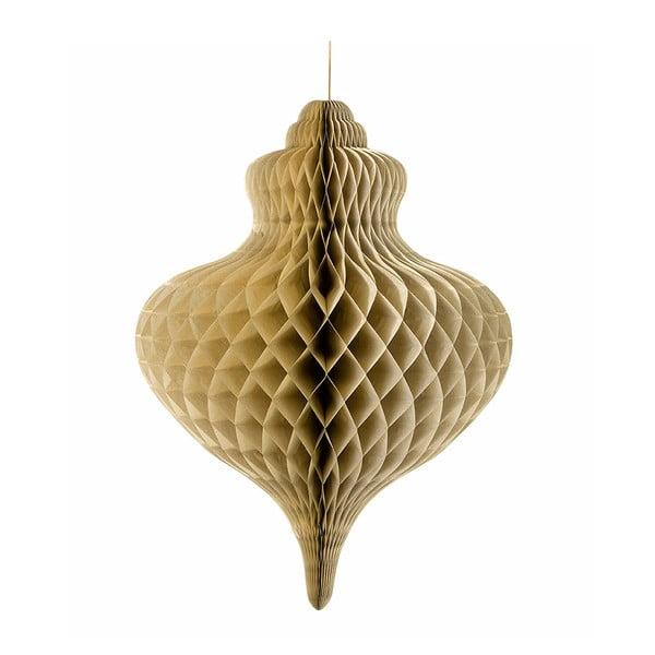 Papierowa dekoracja Giant Honeycomb Gold XXL
