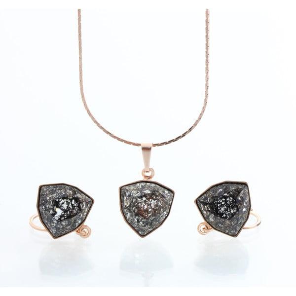 Komplet naszyjnika i kolczyków z kryształami Swarovski Elements Laura Bruni Kloma