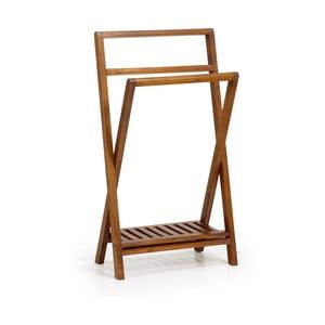 Składany stojak na ręczniki z drewna mindi Moycor Star