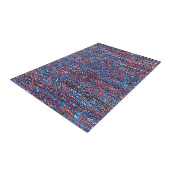 Ręcznie tkany dywan Ikat H8 Blue, 160x230 cm