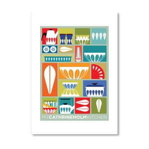 """Plakat autorski """"My Cathrineholm Kitchen"""""""