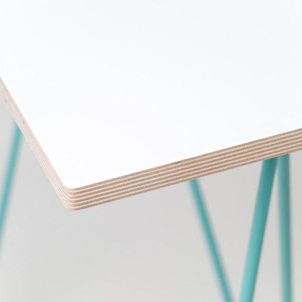 Blat Flat - biały, 180x80 cm