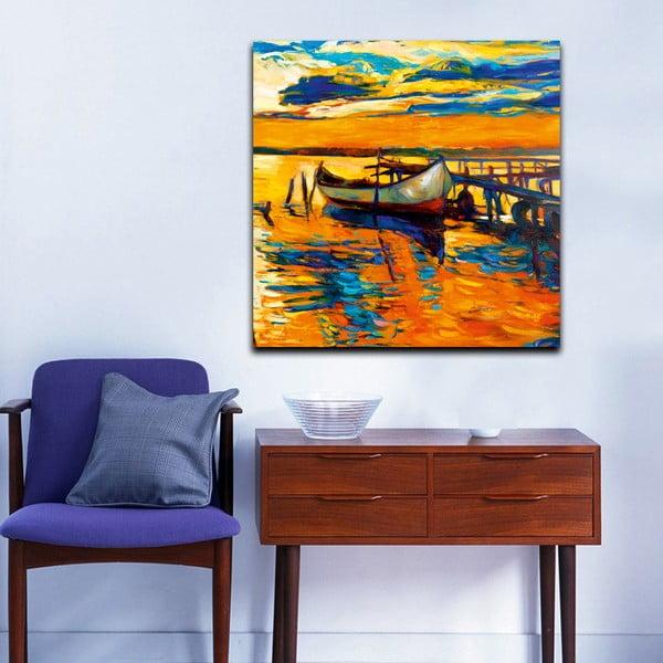 Obraz Morze i słońce, 60x60 cm