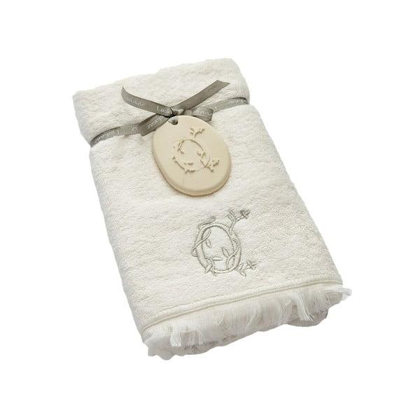 Ręcznik z inicjałem O, 50x90 cm