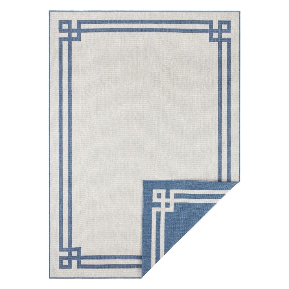 Zielono-kremowy dywan odpowiedni na zewnątrz Bougari Manito, 80x150 cm
