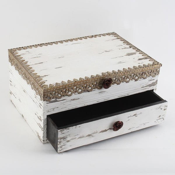 Drewniane pudełko Antique Gold