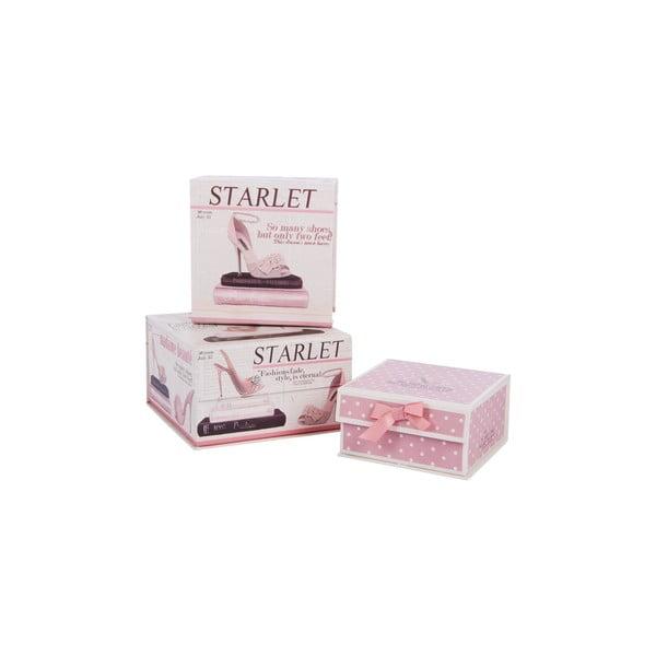 Zestaw 3 pudełek Starlet
