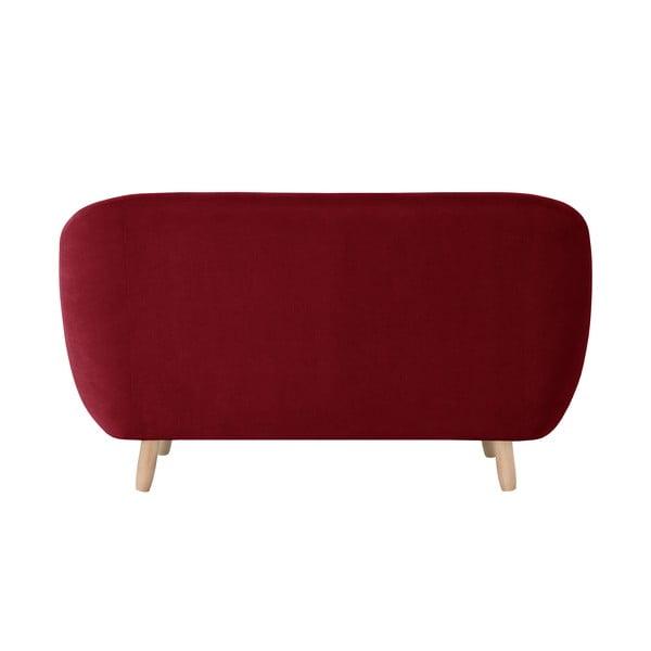 Czerwona sofa 2-osobowa Jalouse Maison Vicky
