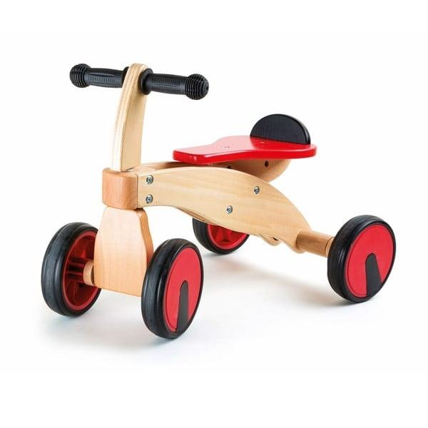 Drewnianyrowerek czterokołowy Legler Red Racer
