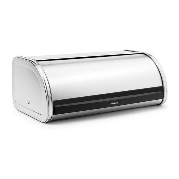 Pojemnik na chleb w srebrnej barwie Brabantia Roll Top