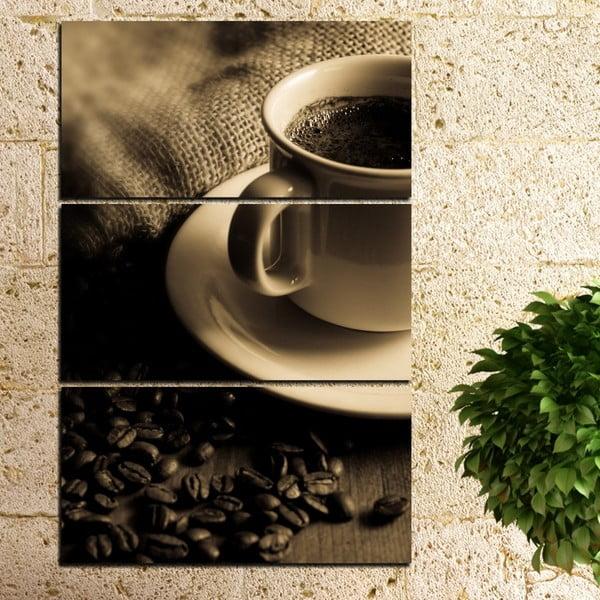 3-częściowy obraz Filiżanka kawy