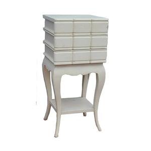 Stolik z trzema szufladami Vintage, 32x71x32 cm